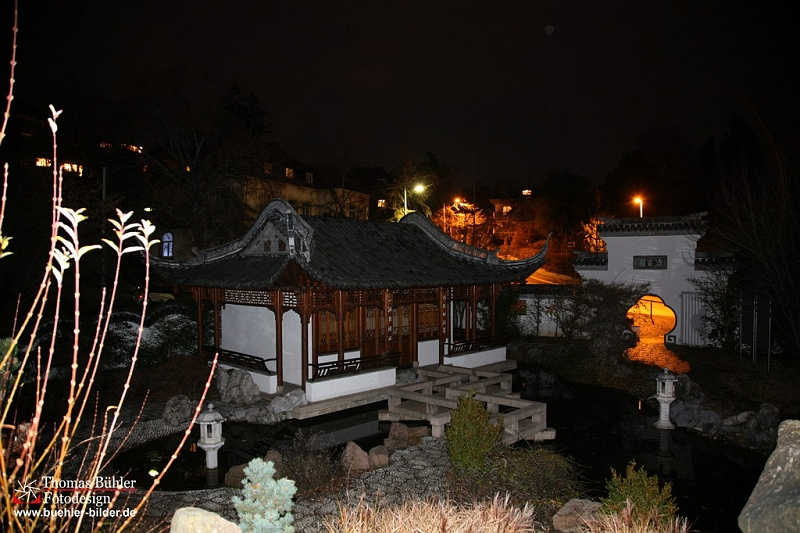 B hler bilder galerie staedte stuttgart nachtaufnahmen - Japanischer garten stuttgart ...
